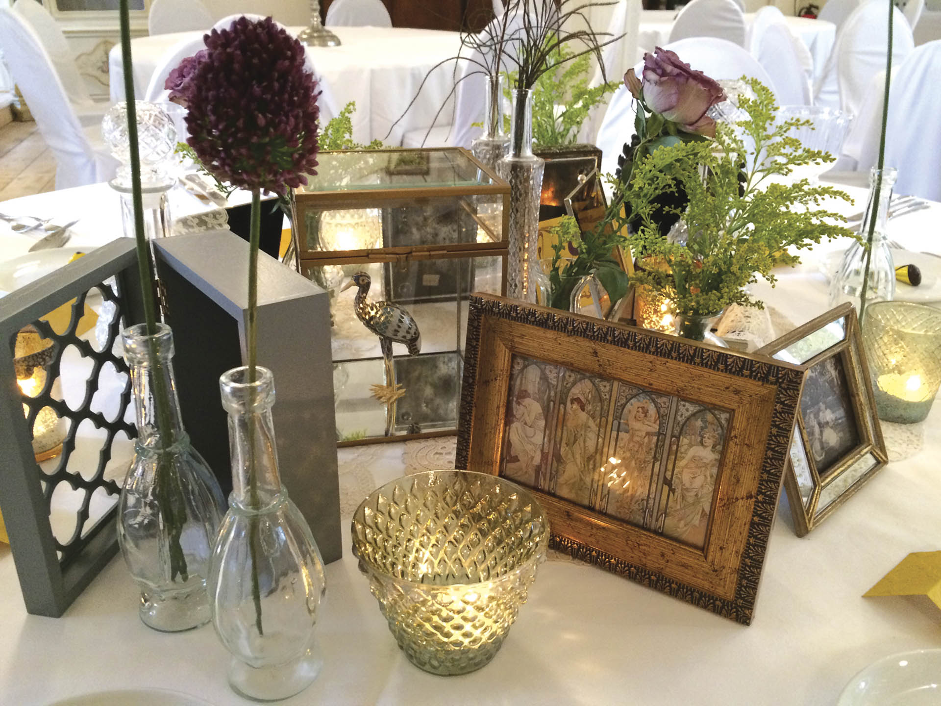 art nouveau the wedding table. Black Bedroom Furniture Sets. Home Design Ideas